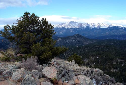 Pikes Peak from Ormes Peak