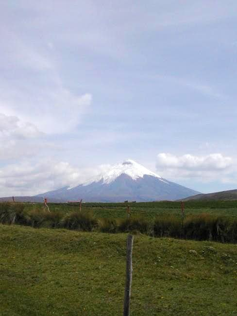 Cotopaxi. An incredible...