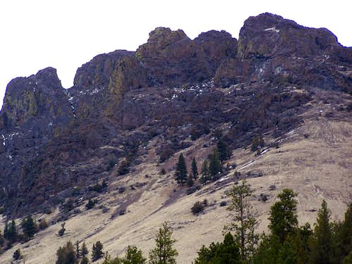 NW ridge - Rooster's Comb