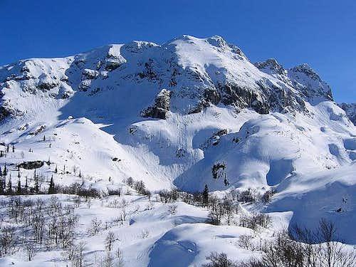 Medjed above Lokvice Valley