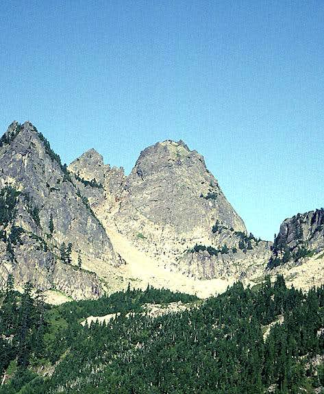 East Face (Summer)