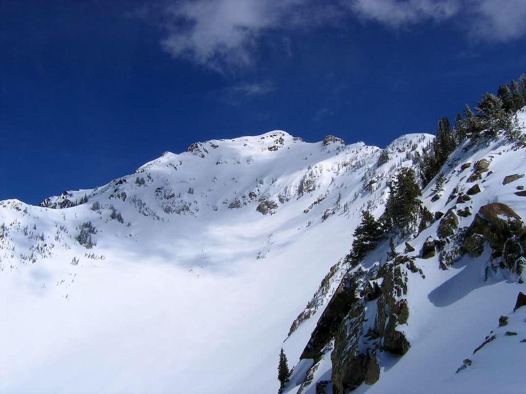 On the southwest ridge