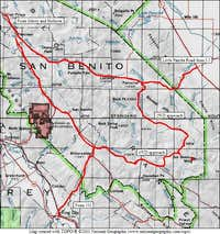 Driving Approaches to San Benito