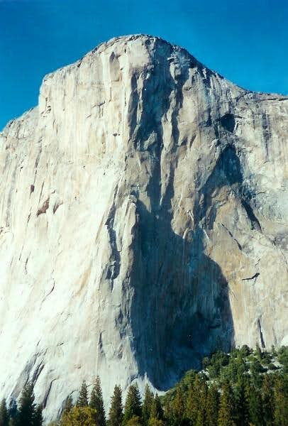 El Cap seen from El Capitan...