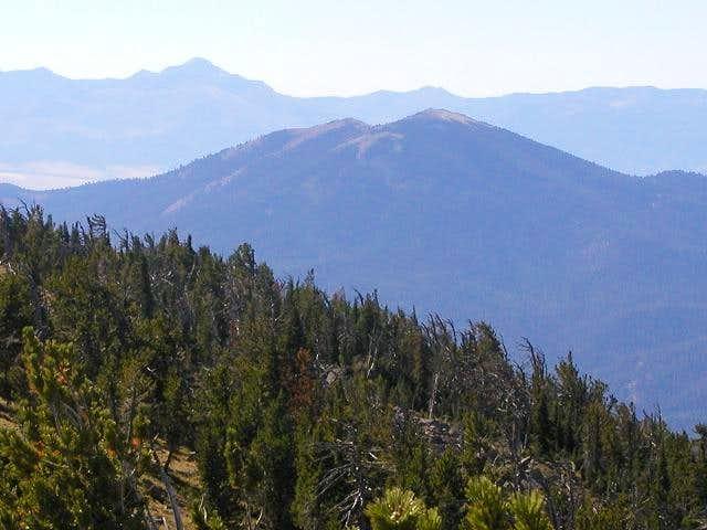 Dixie Butte from Vinegar Hill