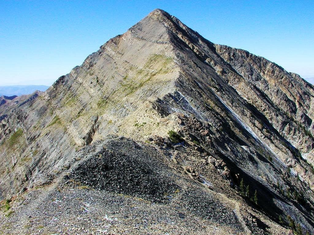 Mt. Nebo's North Ridge