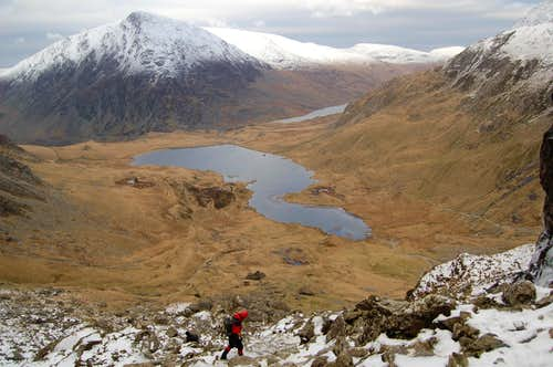 Descent from Glyder Fawr