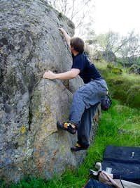 Mikey on Hardcastle Mantle