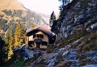 The Engelhorn hut