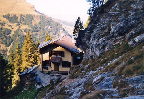 The Engelhorn hut