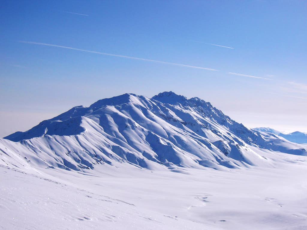 View of the Campo Imperatore plateau
