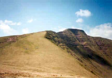 The summit of Pen y Fan