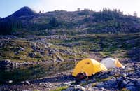 Camp on the South Ridge