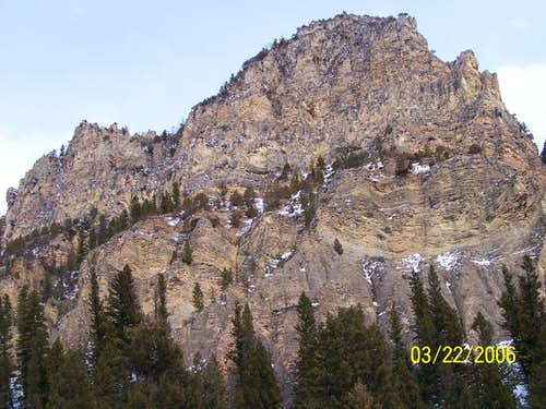 Rock Outcroppings in the Madison Range