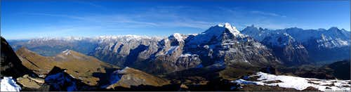 Bernese Alps From Schwarzhorn (2928)