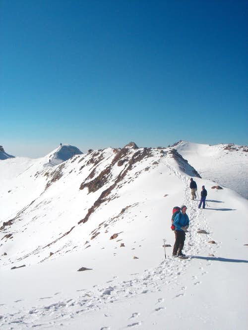 Final Ridge in Arista del Sol
