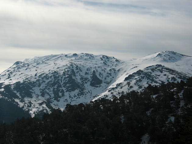 North face of Cabezas de Hierro