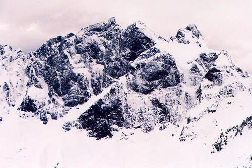 East Face of Three Fingers