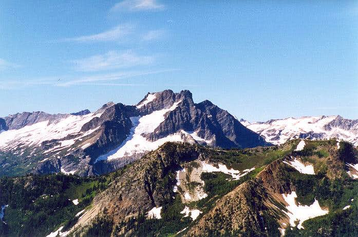 Buck Mountain as seen from...