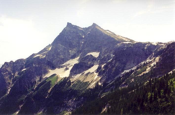 Buck Mountain's stygian North...