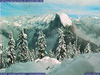 Half Dome webcam