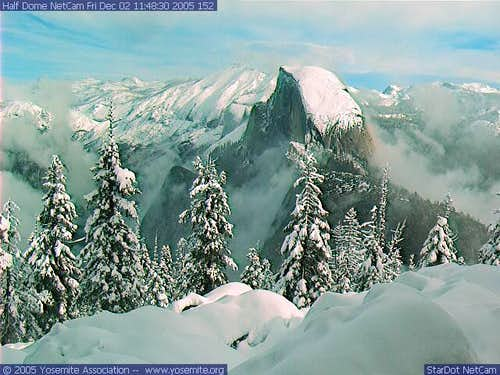 Half Dome webcam