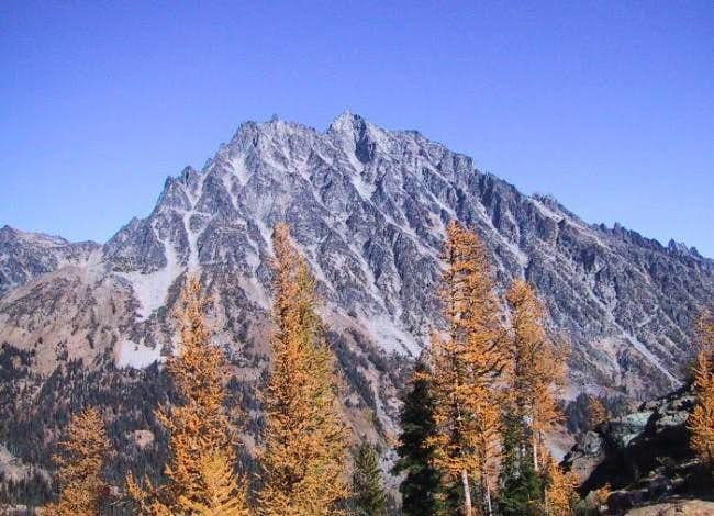 Mt. Stuart on Oct 7th, 2002...