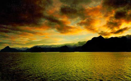 Midnight at Vågakallen