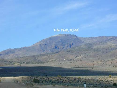 Tule Peak from the...