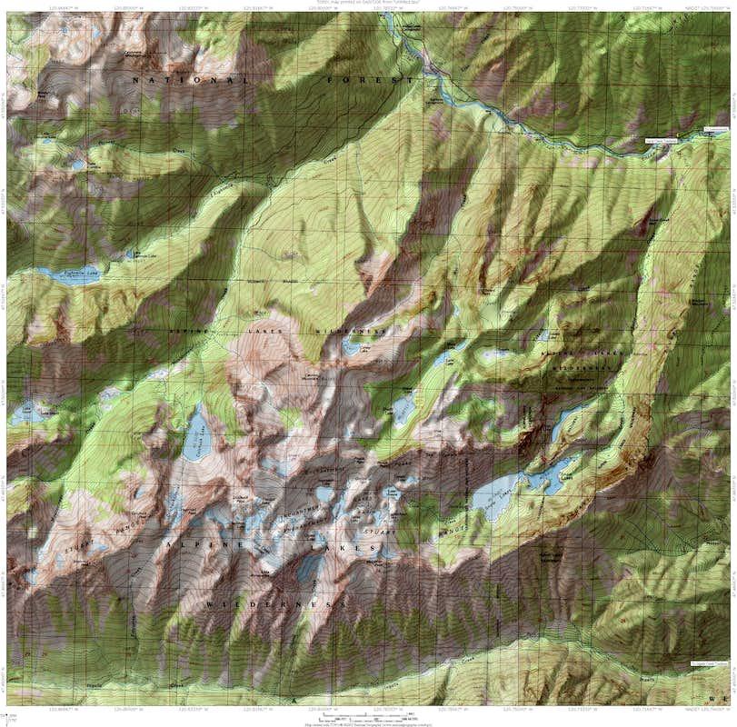 Off on Adventure: Enchantment Lakes, Alpine Lakes Wilderness, WA ...