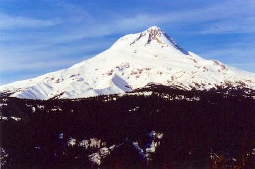 Mount Hood from the Gumjuwac...