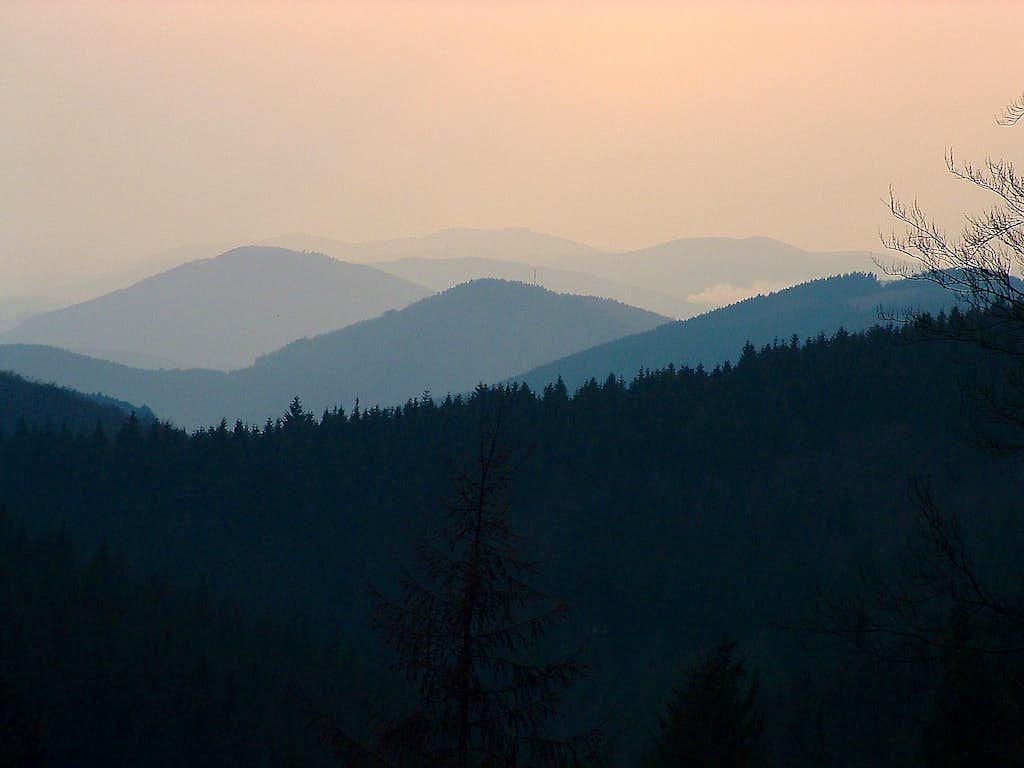 Landscape near Kahler Asten