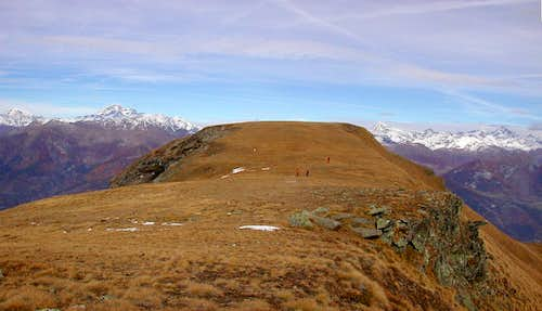 The vast summit of Mont Corquet <i>2529m</i>
