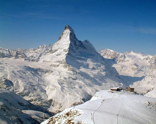 Matterhorn from Oberrothorn