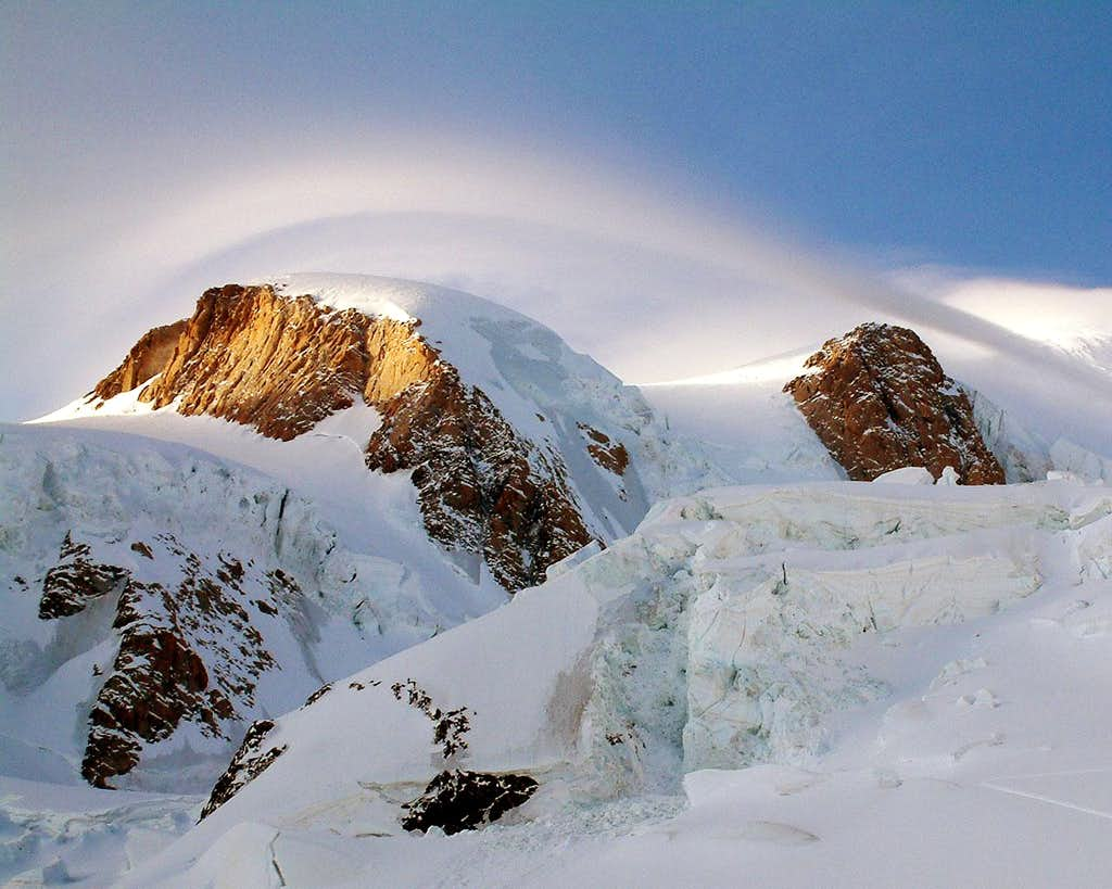 High Up Mont Blanc