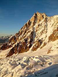 Aiguille du Midi West Face