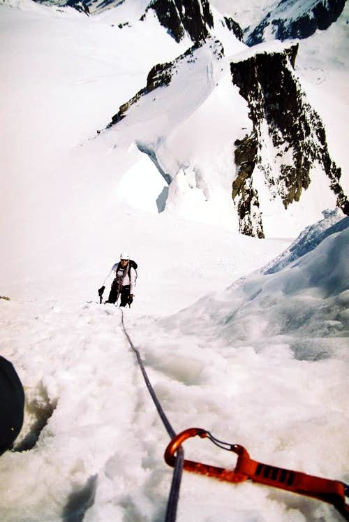 Contamine-Negri (North Couloir)