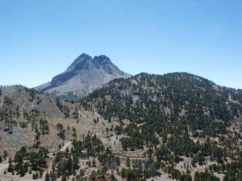 Nevado de Colima from the...