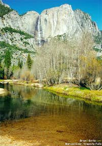 Merced River, Yosemite Falls