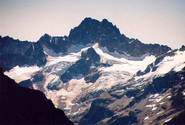 Kimtah Peak from Elija Ridge