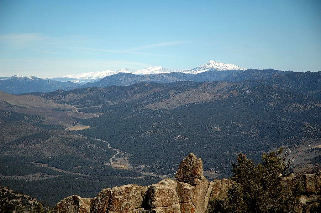 View North from Sawtooth Peak