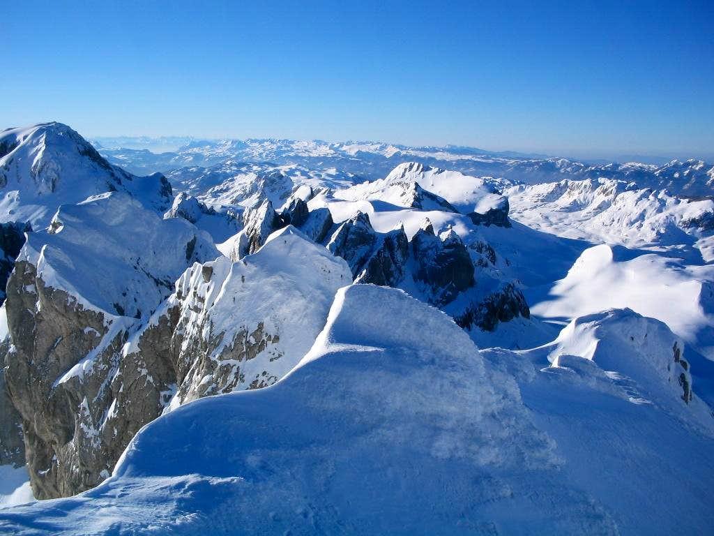 Zupci from Lucin peak...