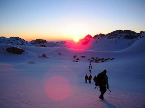 Sunrise in Valoviti Do