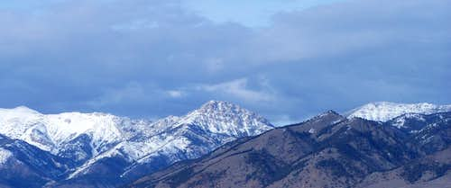 Ross Peak (West Face)