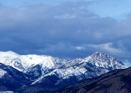 Ross Peak/Sacagawea Peak