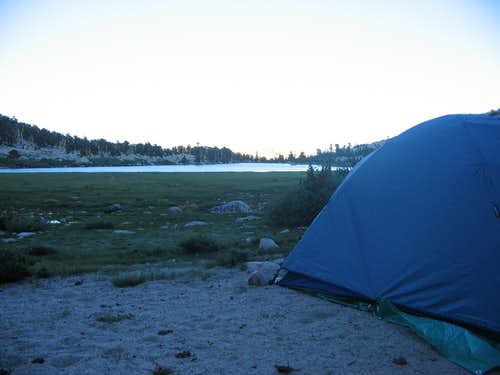 Campsite in Route to New Army Pass