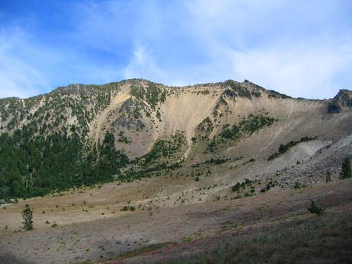 Mount Scott from trail