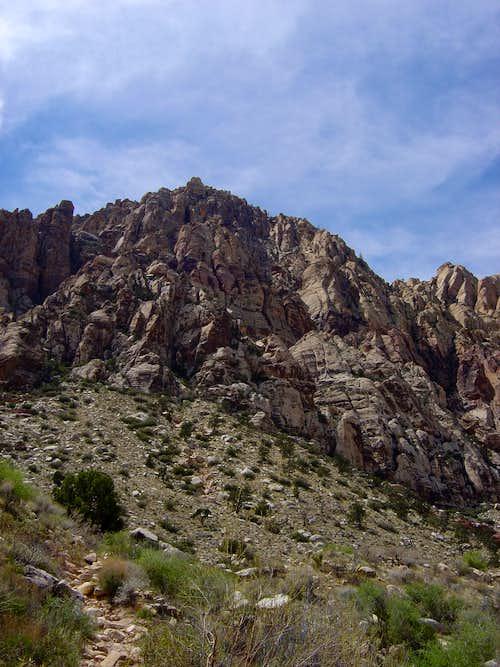 Indecision Peak along First Creek Trailhead