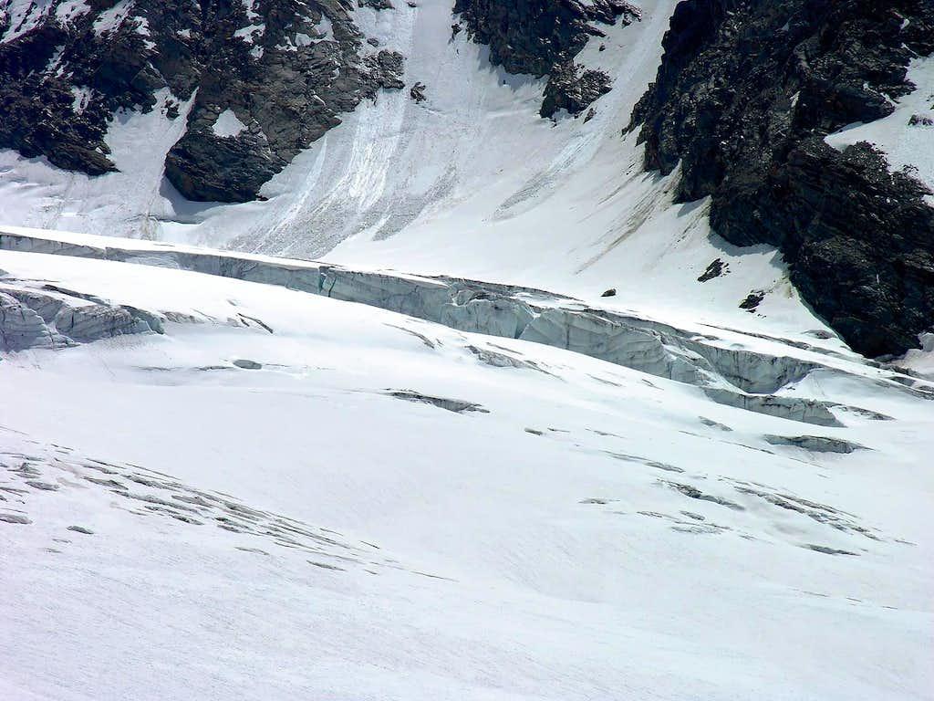 Il ghiacciaio del Rutor...