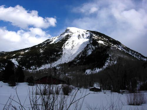 Whitehouse Mountain\'s Northwest Face